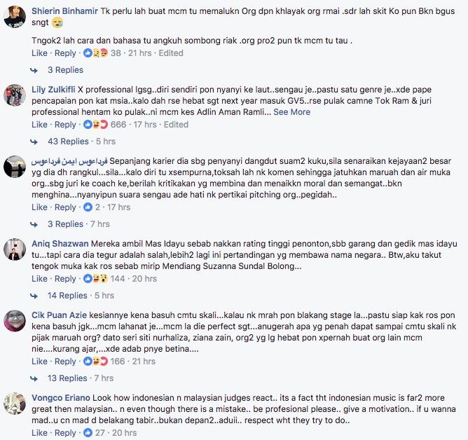 Netizen Baran Cara Mas Idayu Kritik Baby Shima