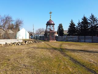 Селище Удачне. Свято-Георгіївська церква. Майданчик для будівництва