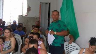 Líder comunitário Domar Justino comemora o titulo de utilidade publica concedido pela ALPB para a (ACBMABN), nas redes sociais