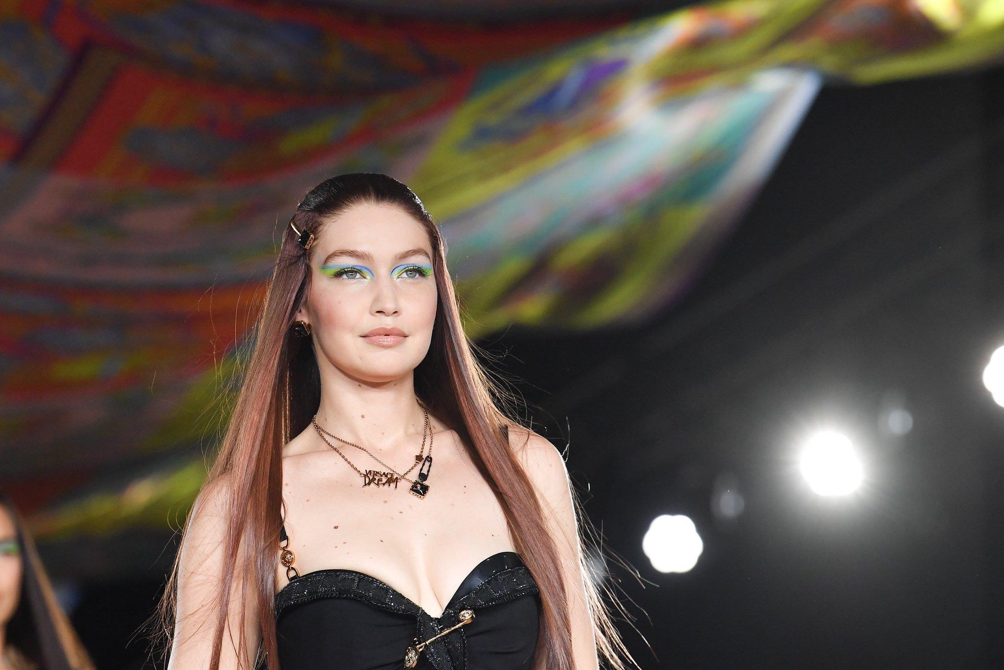 Gigi Hadid for Versace Spring 2022