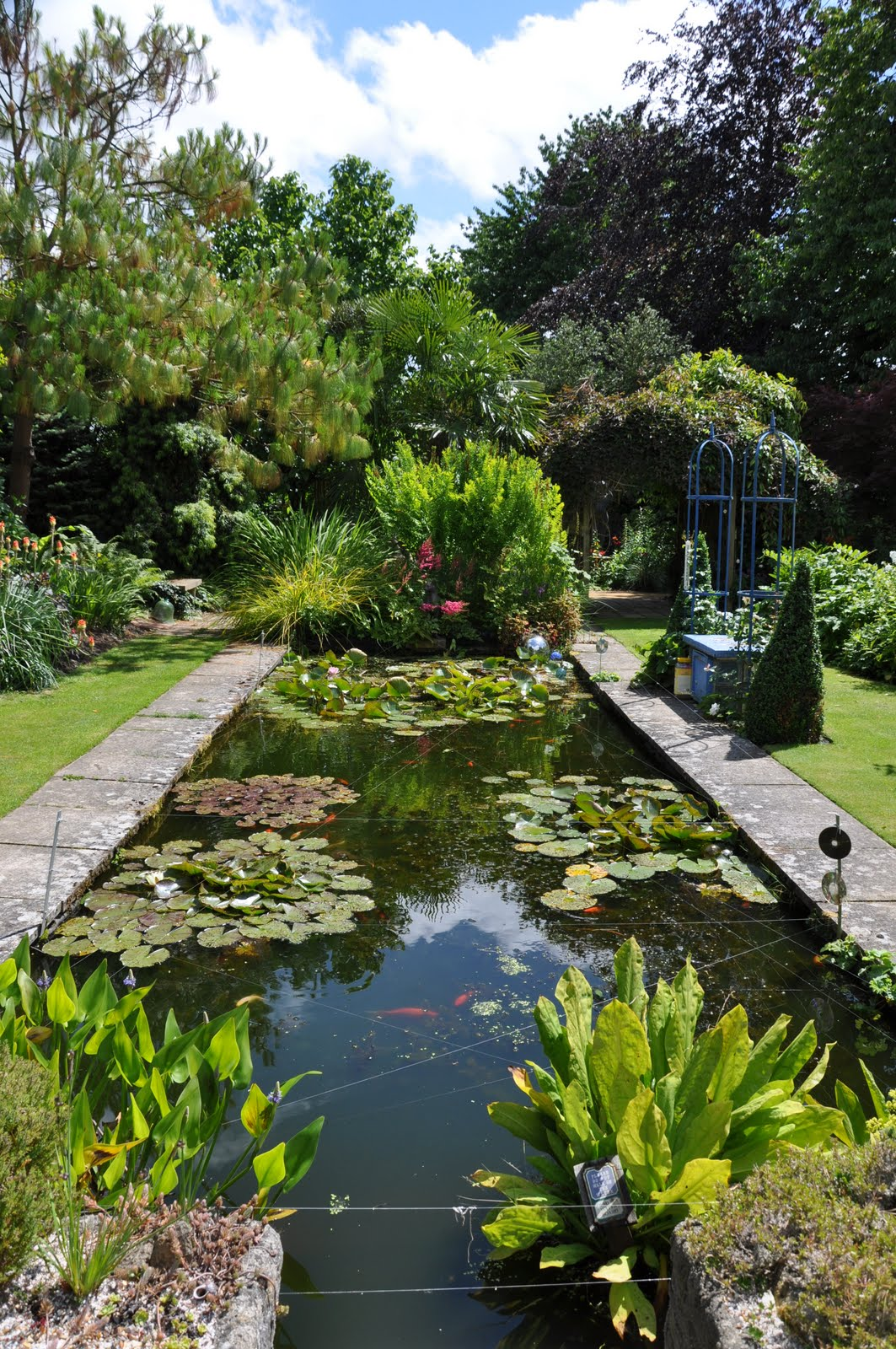 100+ Cool DIY Backyard Pond Design Ideas For Your Garden on Pond Ideas Backyard id=89891