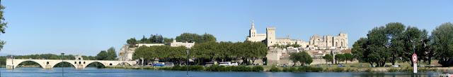 Splendida vista panoramica su Avignone