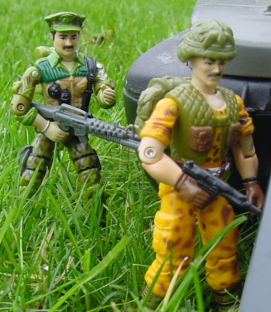 1986 Leatherneck, Beachhead, 1985 Mauler, Claymore, Mission to Brazil, Toys R Us Exclusive
