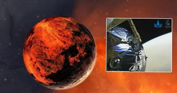 Eντυπωσιακό υλικό από τον πλανήτη Άρη κατέγραψε το σκάφος Tianwen-1 (βίντεο)