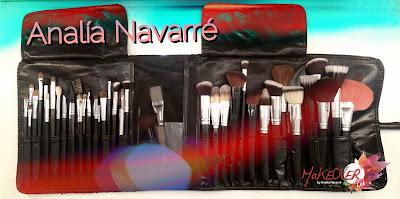 El Brochero de Analía Navarré con pinceles visage