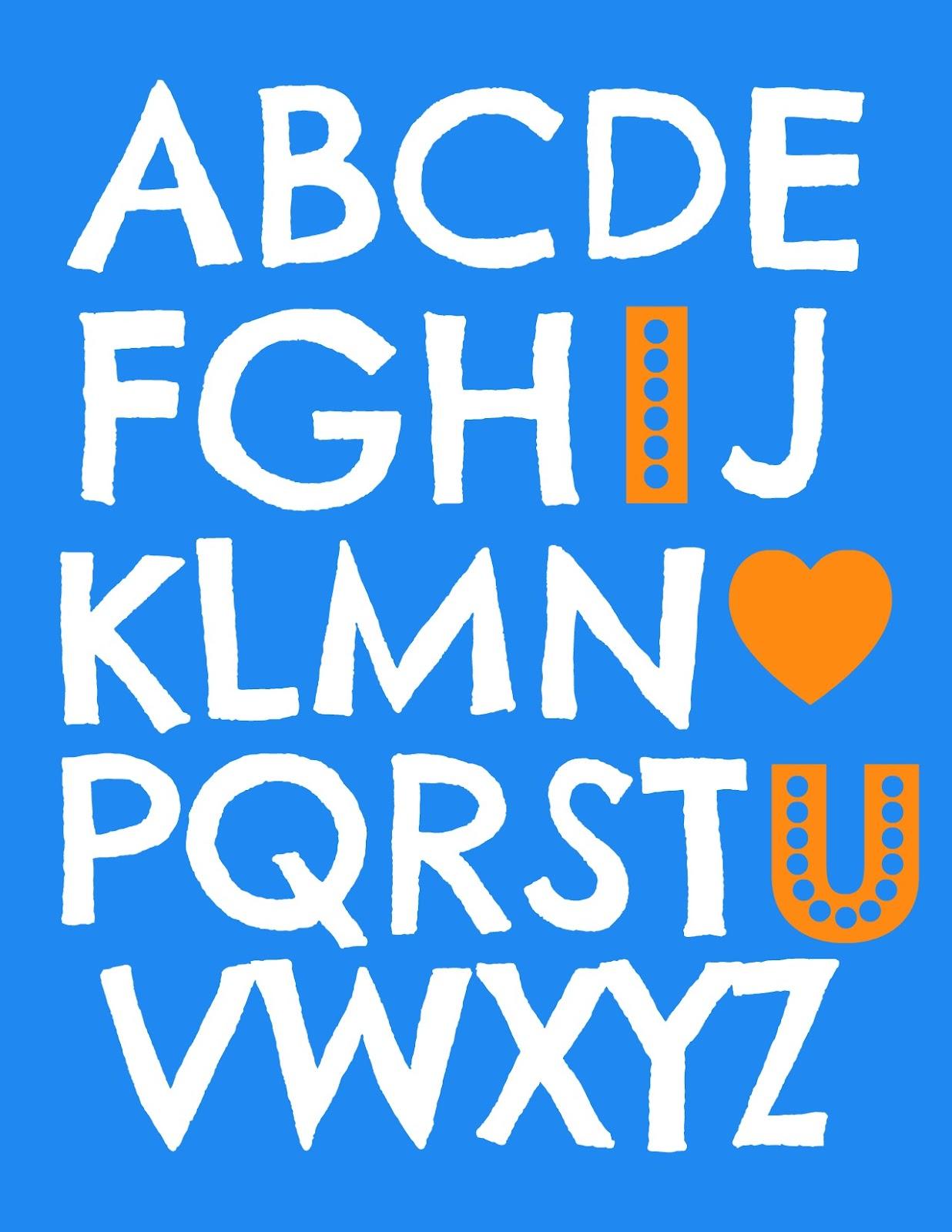 I Love Abcs You
