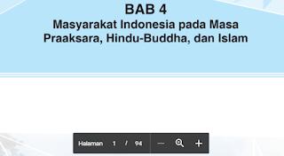 Materi Bab 4 Masyarakat Indonesia pada Masa Pra-aksara, Hindu-Buddha dan Islam