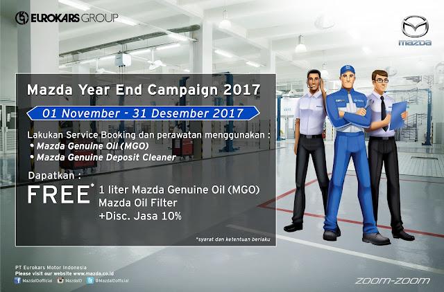 Servis Akhir Tahun Mazda