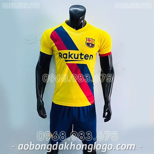 Áo CLB Barcelona màu vàng 2020