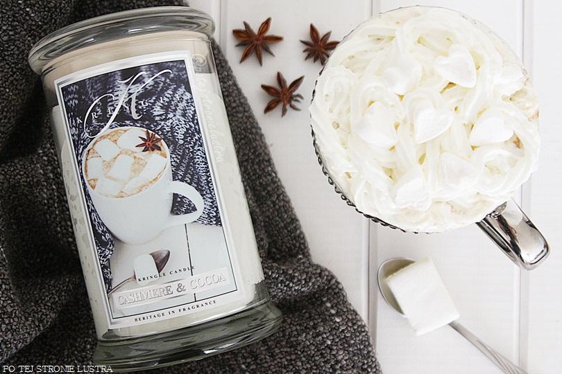 duża świeca zapachowa kringle candle