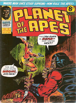 Marvel UK, Planet of the Apes #32
