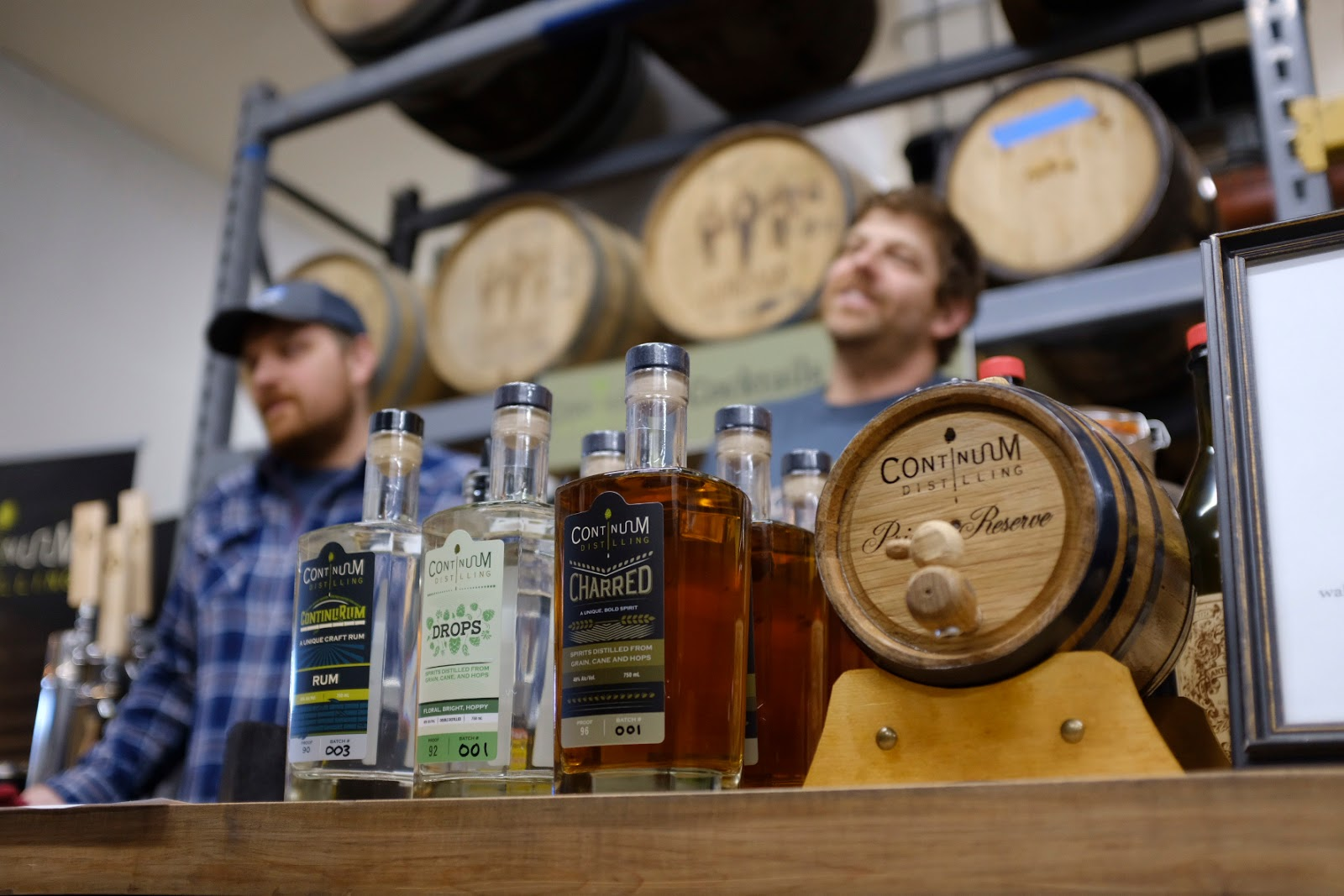 Continuum Distilling makes spirits from beer waste | Local Food Rocks
