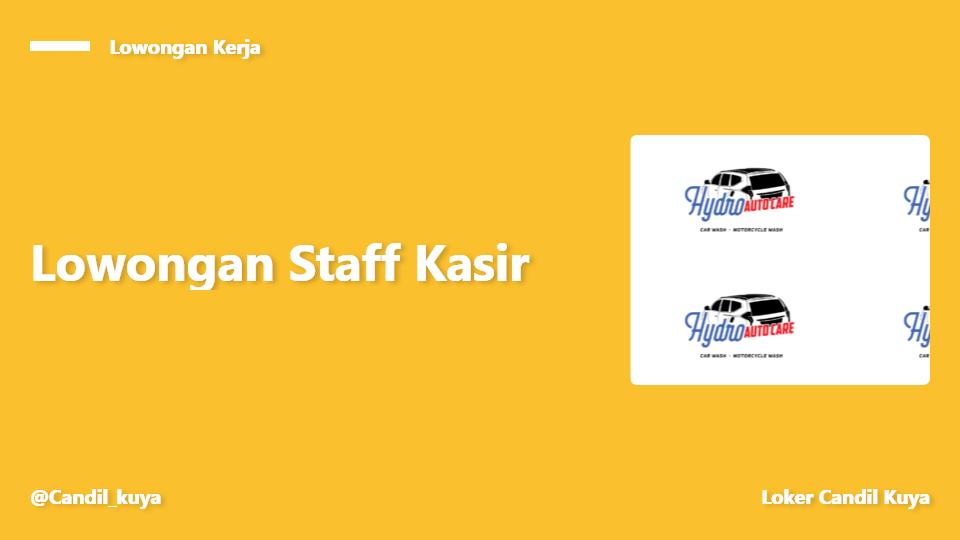 Staff Kasir