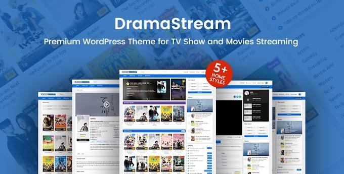 DramaStream For Movie WordPress Theme