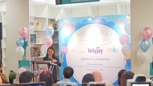5TH YEAR OF TOLLYJOY BABY DAY 2019 WITH YB HANNAH YEOH