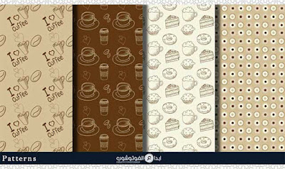 coffee paper patterns1