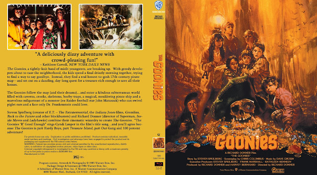 The Goonies Bluray Cover