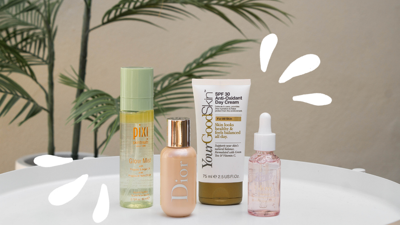 4 Products for glowy skin from Boots
