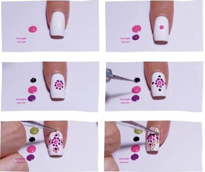 Mandala Nail Design – Dotting Tool Nail art