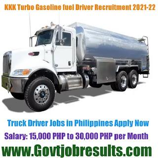 KKK Turbo Fuel Corporation Tanker Driver Recruitment 2021-22