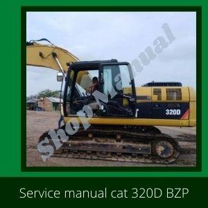 Service manual Cat 320D BZP Caterpillar