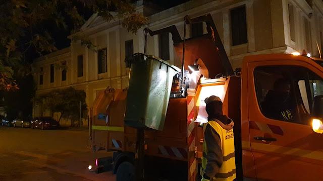 Στις επάλξεις οι εργαζόμενοι του Τομέα Καθαριότητας στο Ναύπλιο