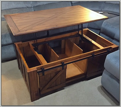 Lift Top Coffee Table Espresso