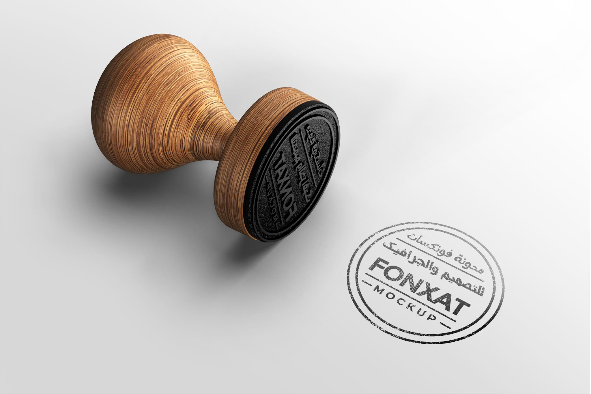 Download a stamp to view the business Mock up to display the seals