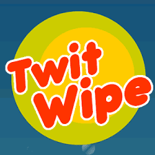 "Delete all tweets at once using ""TwitWipe"""
