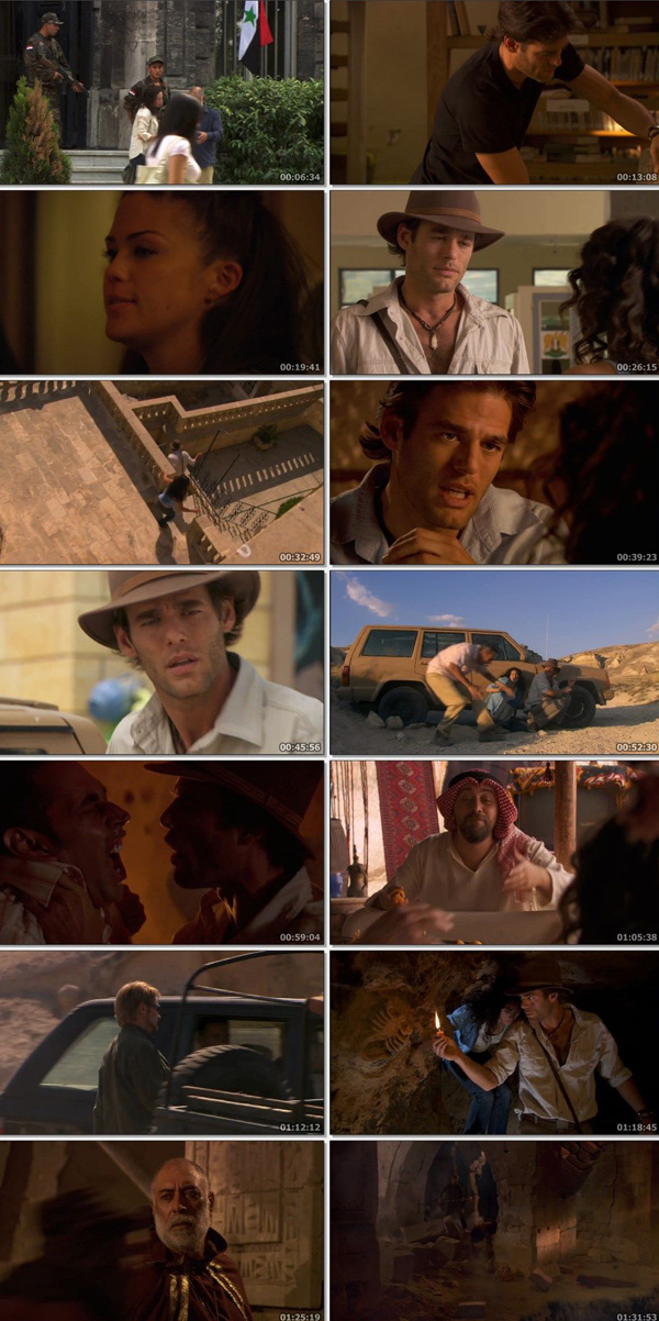 Download Jack Hunter: The Lost Treasure of Ugarit 2008 Dual Audio ORG Hindi 480p BluRay 300MB [Part 1] movie