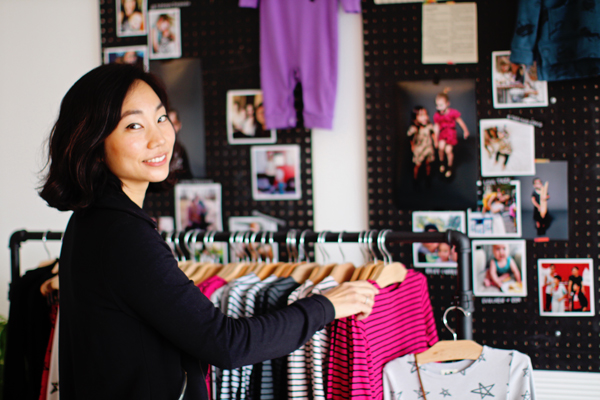 Christine Tang, founder of Kira Kids, in her Los Altos shop