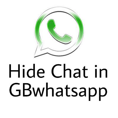 hide chat in gbwhatsapp