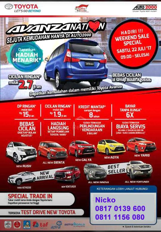 Toyota Gandaria Jakarta Selatan