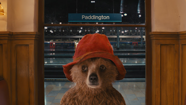 Paddington Ben Whishaw at Paddington Station