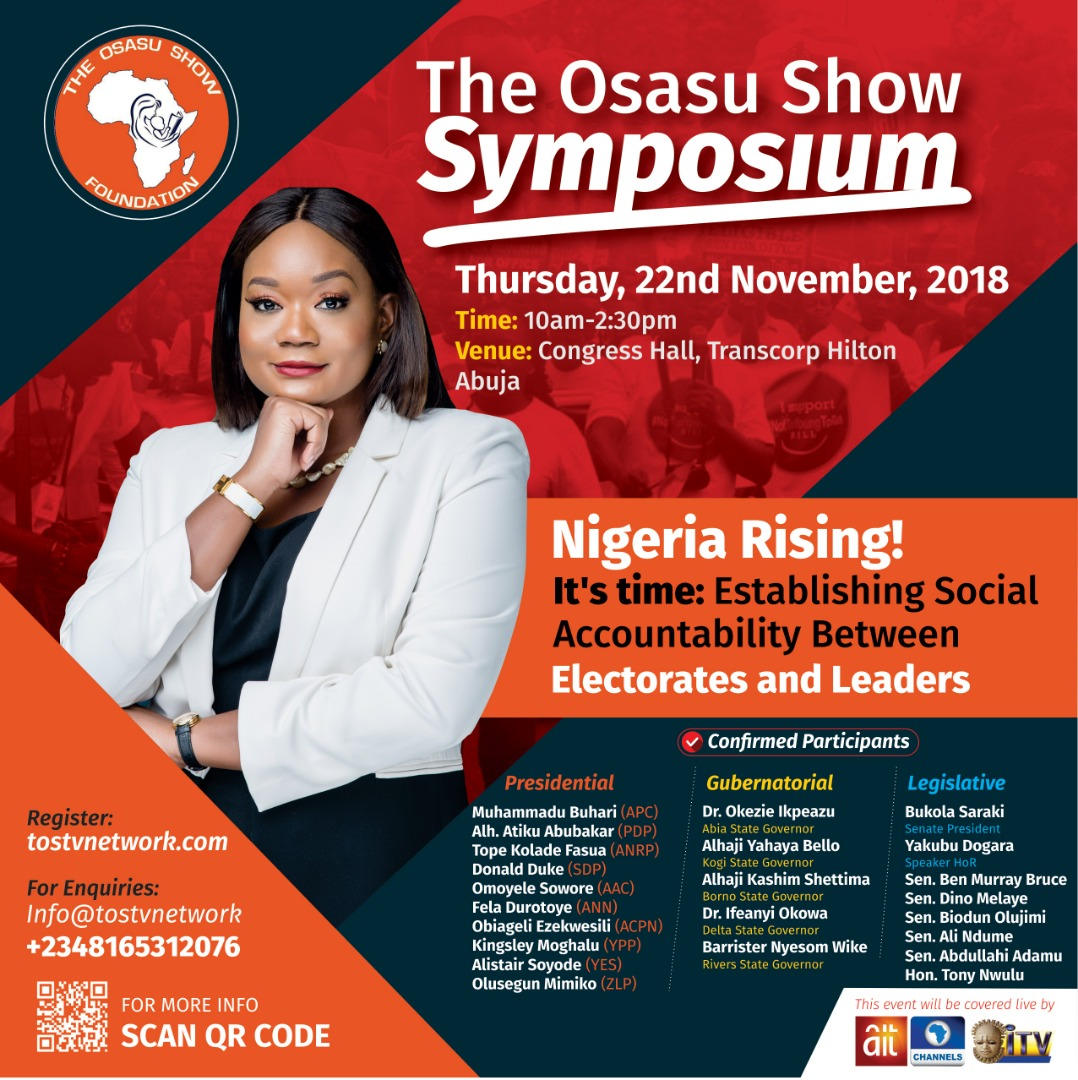 The Osasu Show Symposium