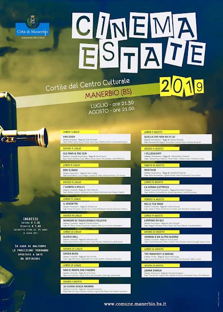 cinema estate 2019 manerbio