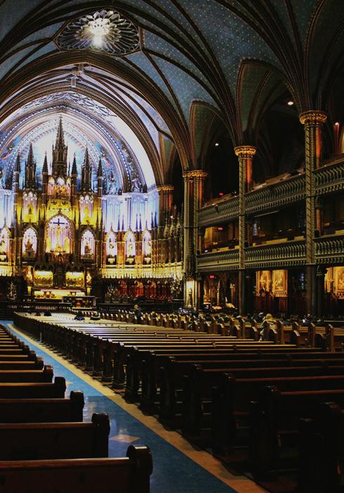 Notre Dame Basilica Montreal Quebec