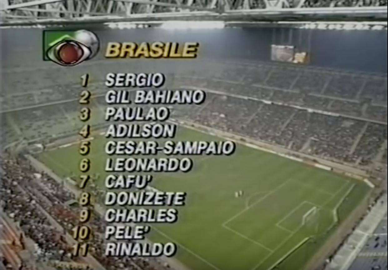 Echipa de start a Braziliei