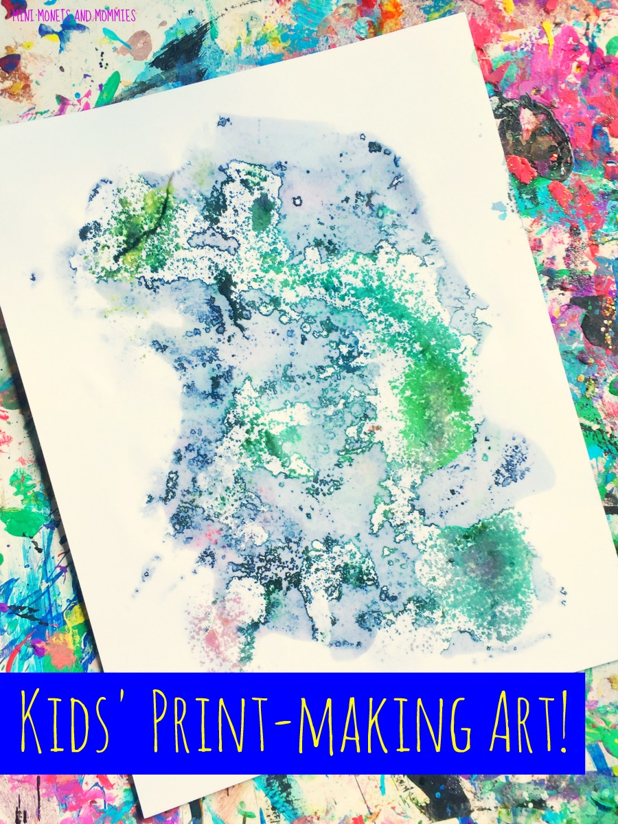 mini monets and mommies kids u0027 art and science frozen vegetable