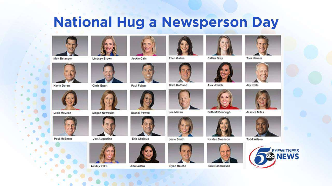 National Hug a Newsperson Day Wishes Pics