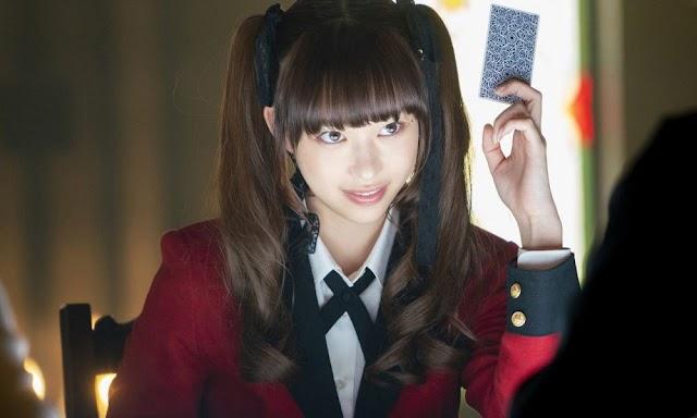 """La serie Live Action """"Kakegurui Twins"""" revela 8 miembros más del elenco y fecha de estreno"""