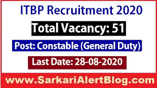 http://www.sarkarialertblog.com/2020/07/itbp-recruitment-2020-apply-for-51-gd-constable-post.html