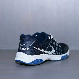 SepatuNike Air Max Biru Navy