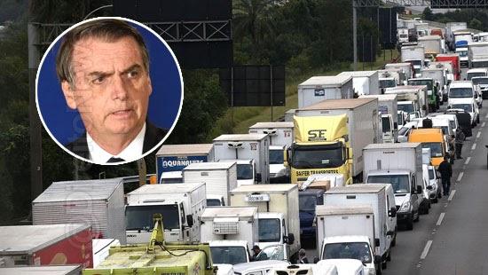 apelo bolsonaro sindicatos confirmam greve caminhoneiros