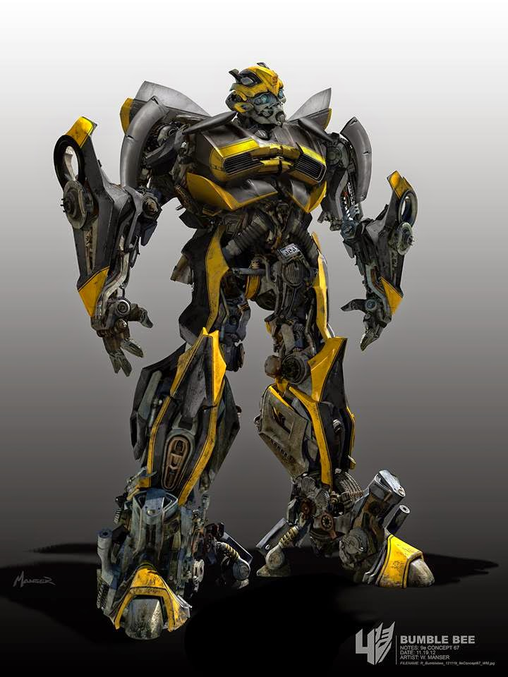 bangin 39 transformers age of extinction bumblebee concept art by warren manser film sketchr. Black Bedroom Furniture Sets. Home Design Ideas