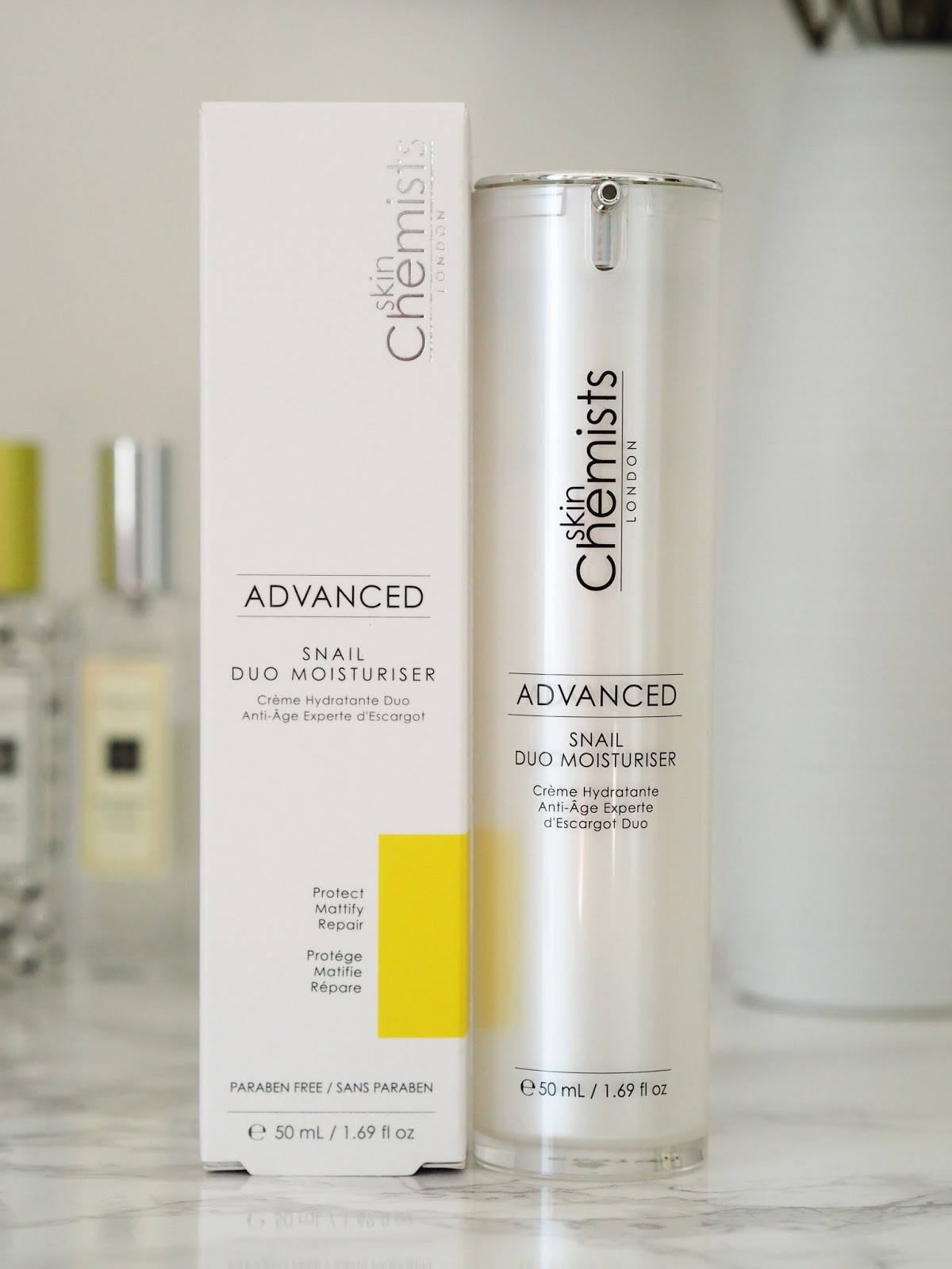 skinChemists review advanced snail duo moisturiser beauty skincare Priceless Life of Mine