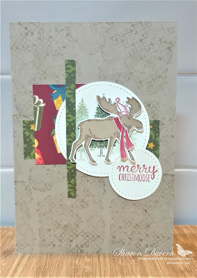 Merry Moose, Christmas Countdown, Night before Christmas DSP, Christmas Cards, One Sheet Wonder 6x6, Rhapsody in Craft, Art with Heart, Stampin' Up
