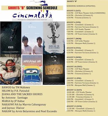 Film Review : CINEMALAYA - SHORTS B (2017) ~ Star Powerhouse