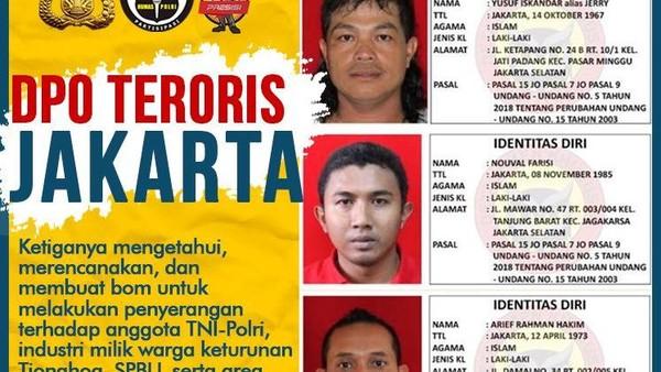 DPO Teroris Nouval Farisi Serahkan Diri ke Polsek Setiabudi!