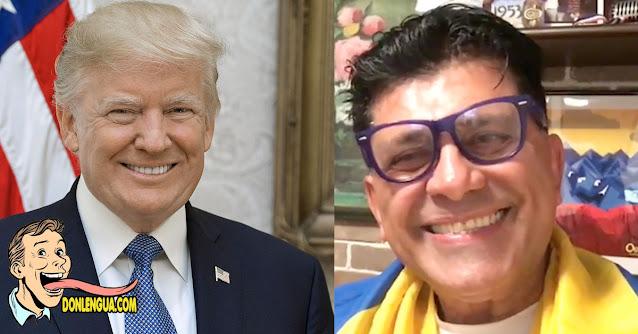 Franklin Virgüez nos enorgullece al afirmar que votará por Donald Trump